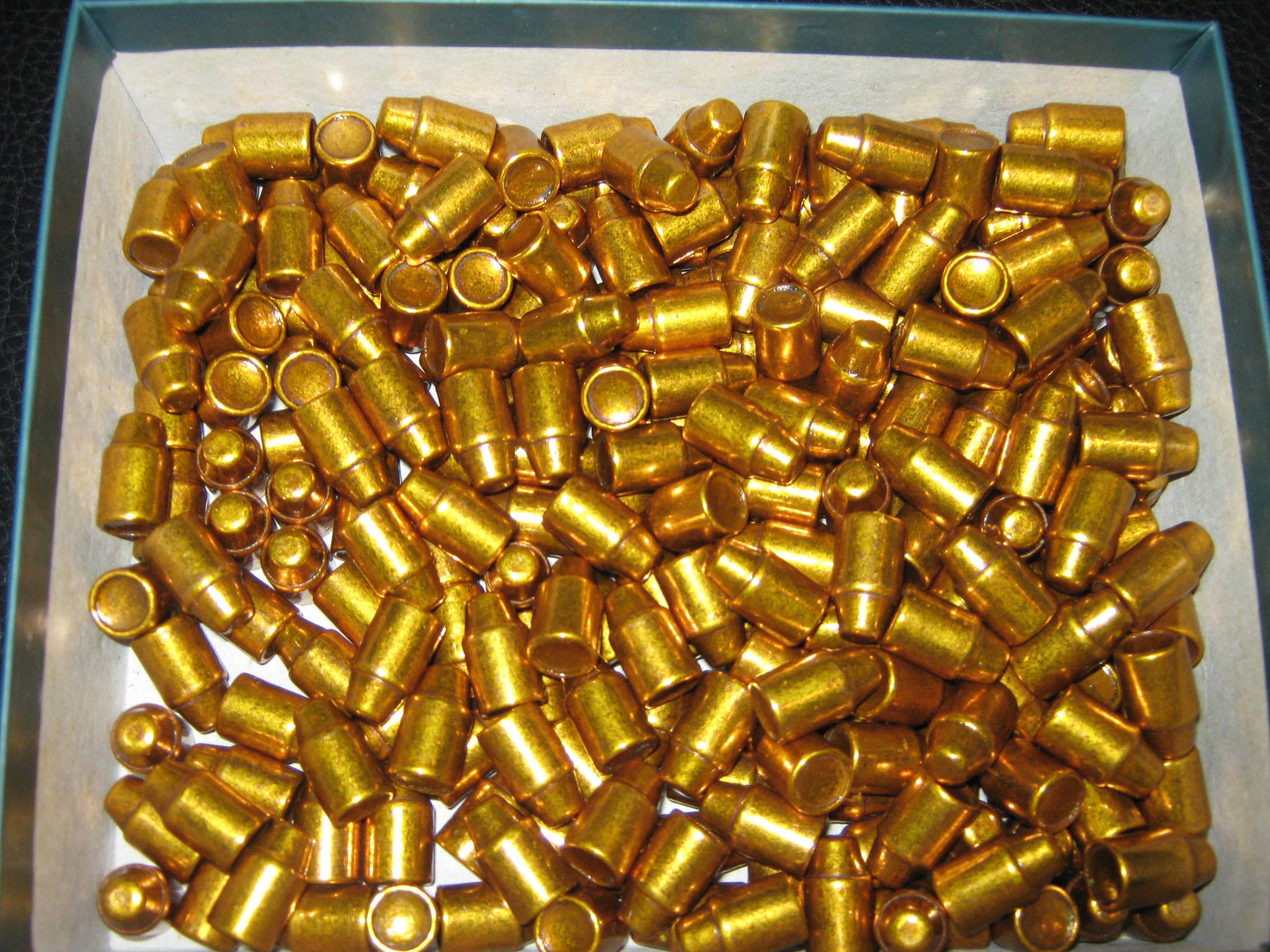 .429 240 grain SWC verkupfert + Kunststoff